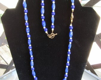 Matching Beaded Necklace and Bracelet #209