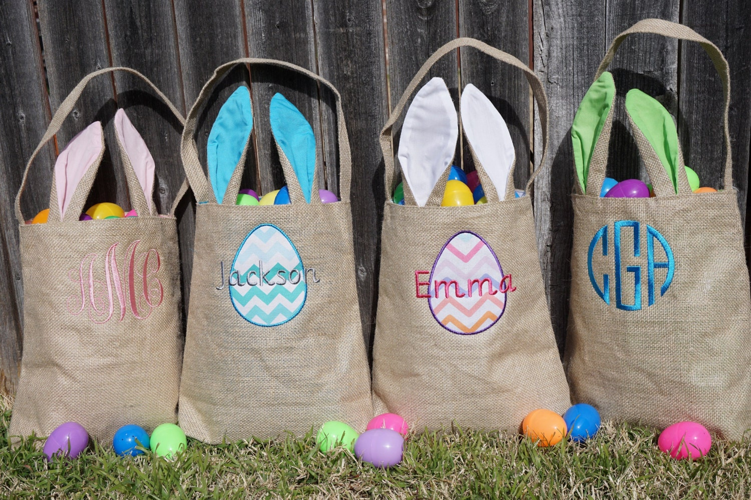 Easter Basket Personalized Easter Basket Monogram Easter