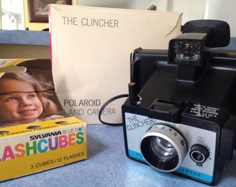 Polaroid Land Camera The Clincher