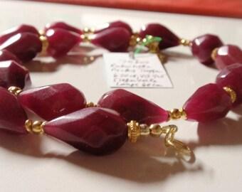 Ruby Necklace  in Dropform  (JK 604)