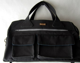 PrimusCraft CUSTOM overnight bag in leather, waxed canvas or duck canvas