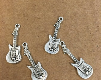 Guitar charms (10 pieces)