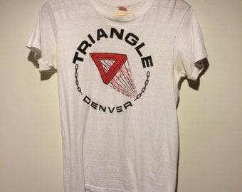 Vintage 80's Triangle Bar Denver T-Shirt
