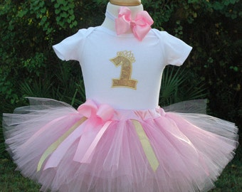 pink and gold 1st birthday girl outfit,one year old girl birthday outfit,1st birthday outfits girl, baby girl birthday