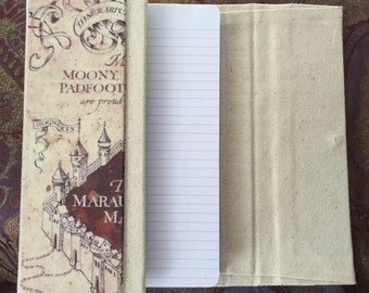 Harry Potter Marauders Map Journal