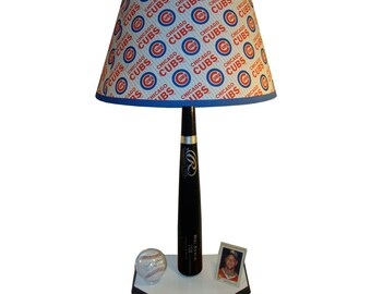 Chicao Cubs Bat Lamp