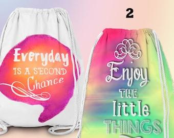 Gym-Bag, Gym Drawstring Bag, Turnbeutel, Sportbeutel, Gymnastikbeutel , Hipster 2