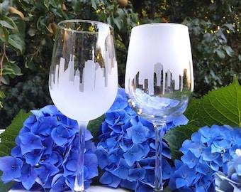 San Francisco Skyline Wine Glass (Set of 2)