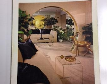 ARCHITECTURAL DIGEST November 1977 magazine back issue