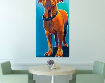 Elle Pit Bull Dog Wall Decal - #59927