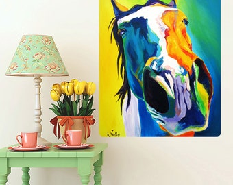 Up Close And Personal Horse Wall Decal - #60003