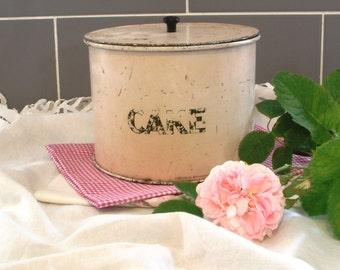 Pretty Vintage Cream Cake Tin