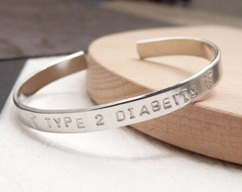 Medical alert bracelet, Id warning jewelry, epilepsy cuff, epipen, diabetic, celiac, allergy