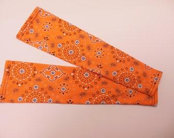 Bandana Rama - Orange sleeve