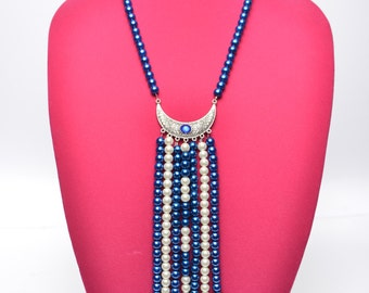 Zeta Phi Beta strand necklace