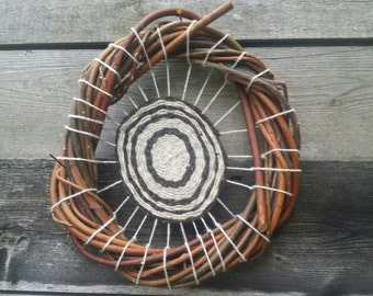 Willow and Wool Circular Weaving