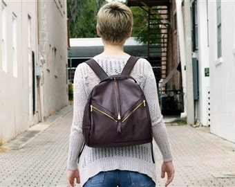 Victoria Leather Backdrop Backpack Bag