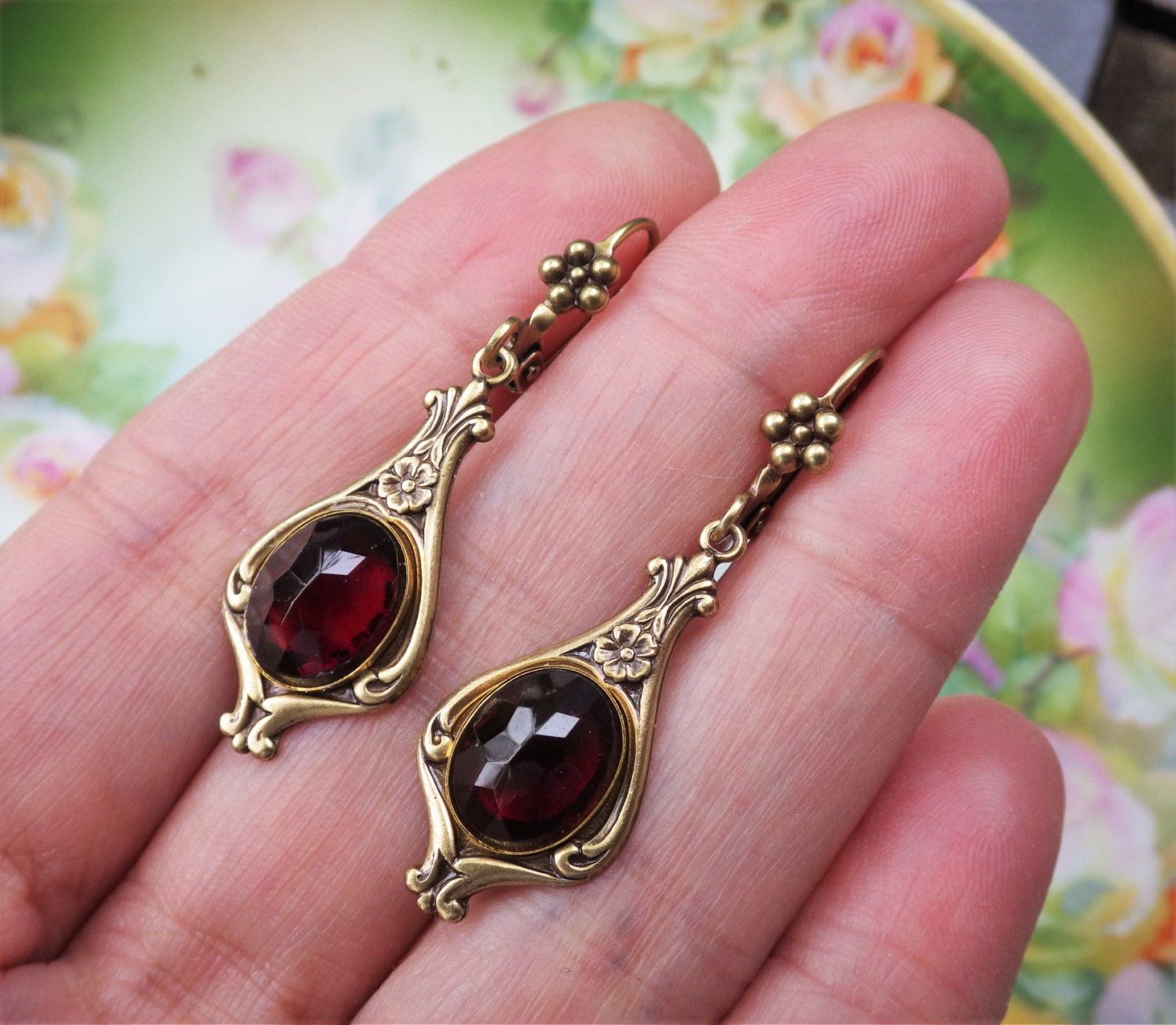 Marsala Vintage Fashion Jewelry
