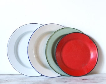 Enamelware Plates