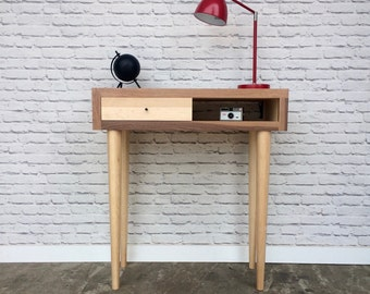 Wood Scraps Console Table