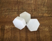 Marble Hexagon Magnets