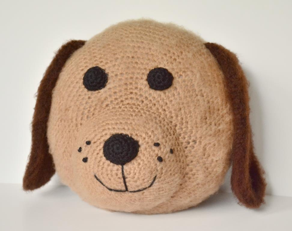 Pattern Fuzzy Puppy Pillow Crochet Pattern Amigurumi