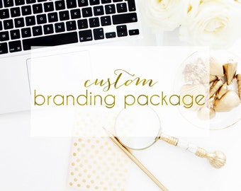 Custom branding package - Brand identity and logo design - Marketing Tools