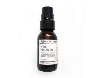 Argan Oil - This can be used as a natural face oil, natural hair oil or nail oil