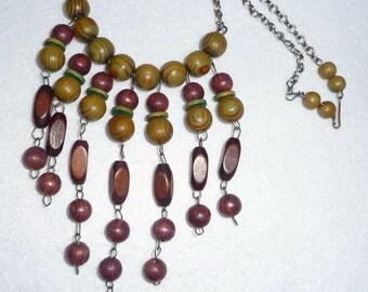 Necklace. Aarikka (Finland). Vintage.