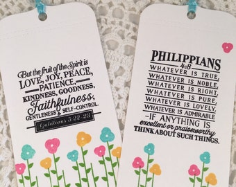 Assorted Bible Verse Bookmarks