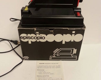 Free Shipping!! Episcope Multi-Purpose Projector WORKS