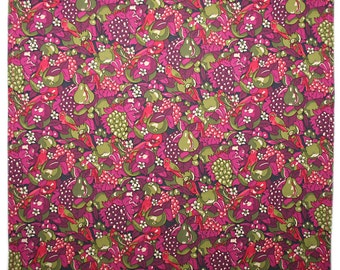 Handmade Liberty Tana lawn OSBORNE'S pocket handkerchief hankie hanky