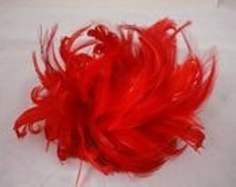 Feather Comb Hair Accessiry