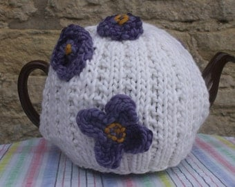 Flower Tea Cosy / Cozy - Handmade large Size