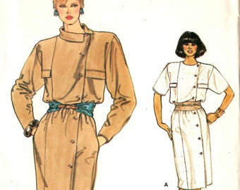 Vogue 8881 Misses Dress Sewing Pattern 36 Chest