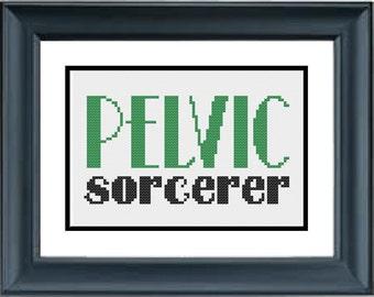 Pelvic Sorcerer - Guardians of the Galaxy - PDF Cross-Stitch Pattern - Comic Book Movie