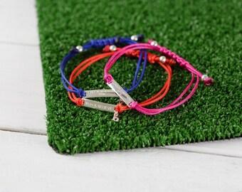 UK Run bracelet - design your own run bracelet, sporty gift, running bracelet,  sporty bracelet, marathon jewellery, running jewellery