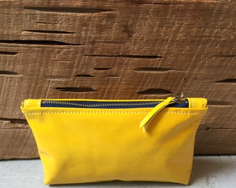 Canary Patent Leather Tiny Ditty