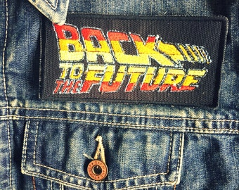 Back To The Future Logo Iron-on Embroidered patch