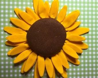 Gum Paste Sunflower ~ Cake Topper ~ Sunflowers ~ wedding Cake sunflower