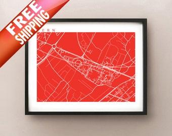 CERN Map Print