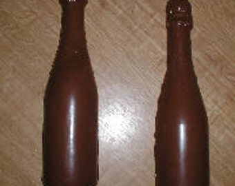 Large Champagne Bottle 3D Assembly Chocolate Mold