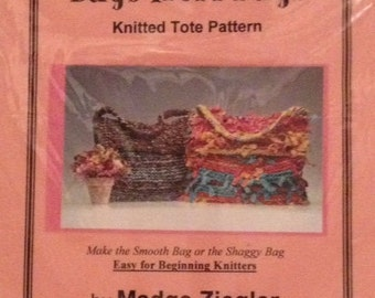 Bags from Rags Knitted Tote Pattern