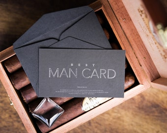 Best Man Card - Will you be my Best Man?