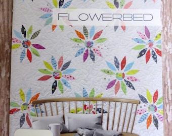 Flowerbed Quilt Pattern - Zen Chic - Brigitte Heitland - Moda - FBQP