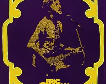 Eric Clapton Lyrics 20 x 24- Giclee Print of Original Painting