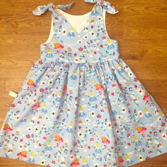 Girls Dress Alice in Wonderland Birthday Party Outfit Baby