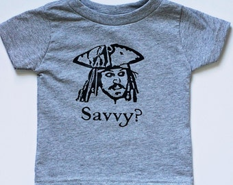Captain Jack Sparrow Tee Infant Toddler Child