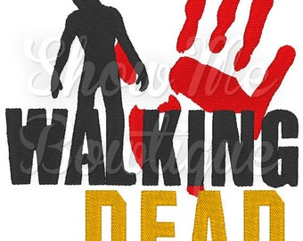 Walking Dead 4x4 Fill Stitch design