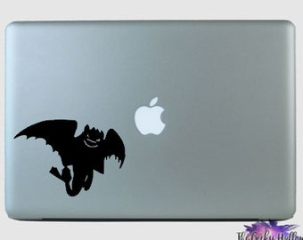 Toothless Decal